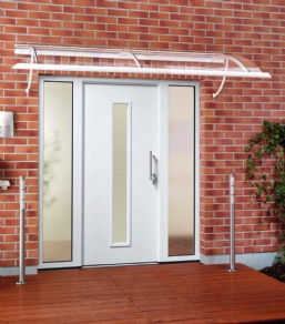 ThermoPro Entrance Doors- With a Flush-fitting Door Leaf and High Thermal Insulation